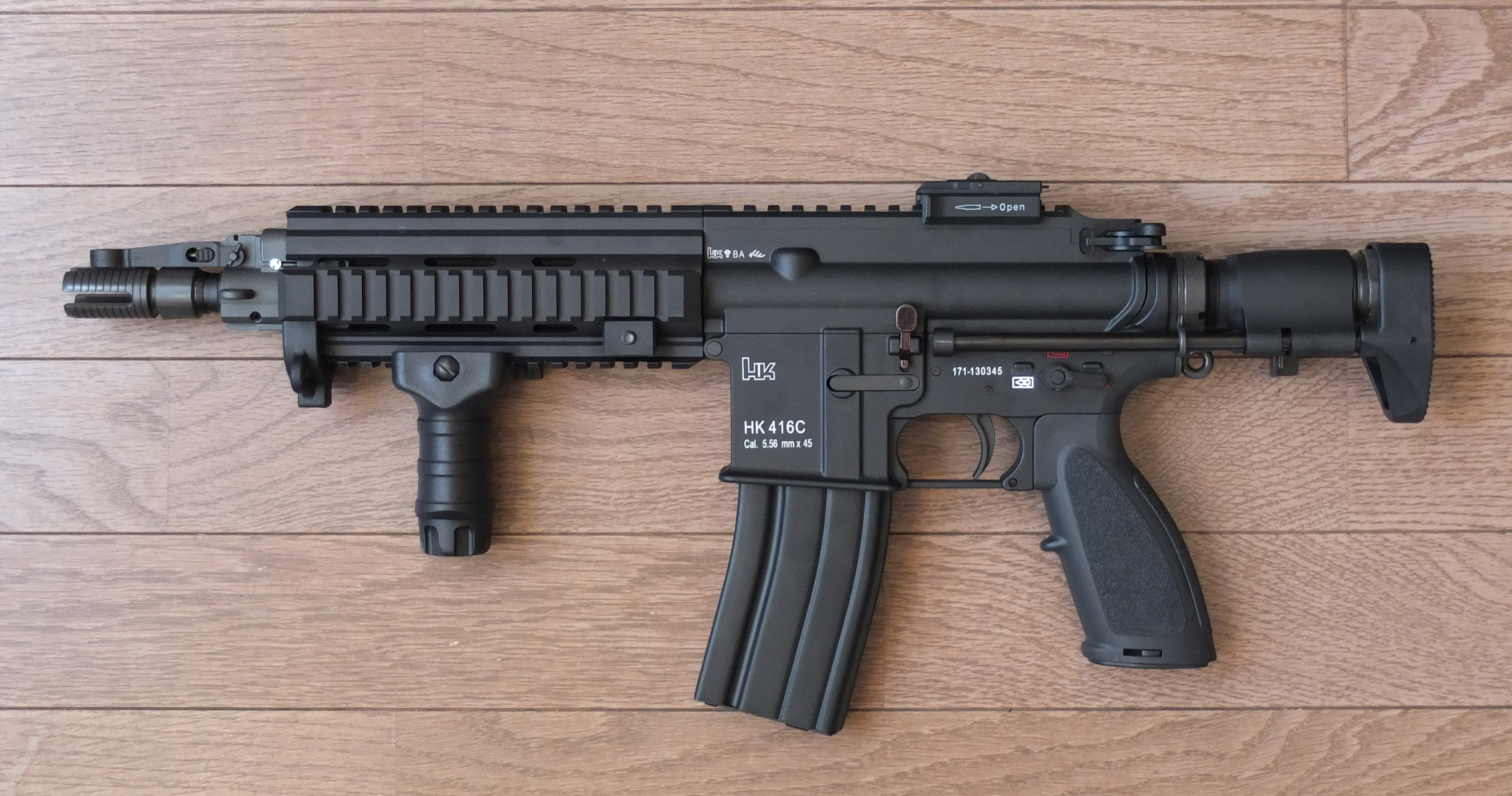 HK416C Suppressed on 416 html